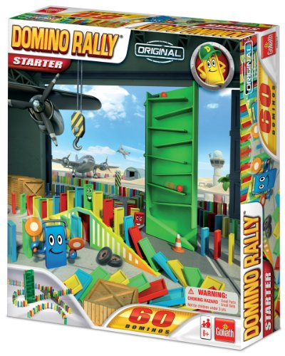 Domino Rally Starter  -  Dominoes for Kids  -  Classic Tumbling Dominoes Set - 1