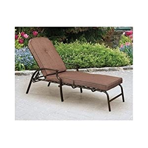 Mainstays Wentworth Chaise Lounge Patio Lawn Garden