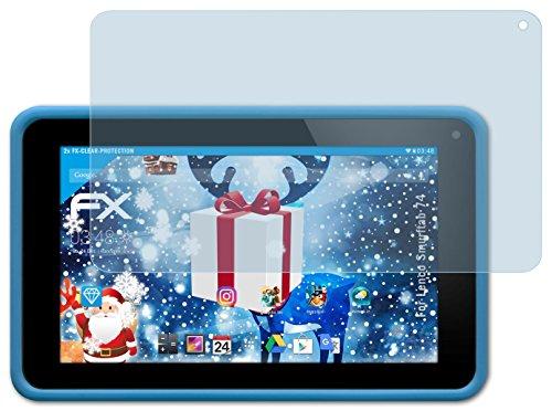 2-x-atfolix-protezione-pellicola-dello-schermo-lenco-smurftab-74-pellicola-protettiva-fx-clear-ultra