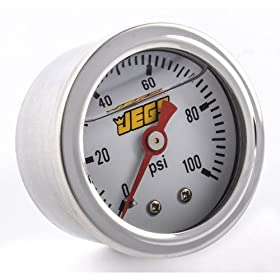 JEGS Performance Products 41043 Fuel Pressure Gauge