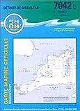 echange, troc Cartes Epshom - Carte marine : Détroit de Gibraltar