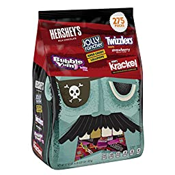 HERSHEY\'S Halloween Snack Size Assortment (67.87-Ounce Bag, 275 Pieces)