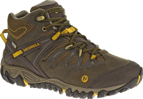 Merrell Men's Allout Blaze Mid Waterproof Hiking Shoe