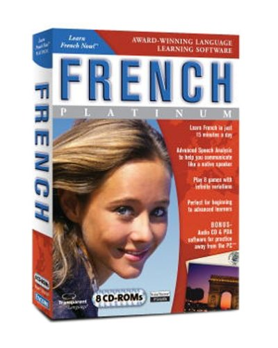 Learn French Now Platinum Edition DVD BoxB0001XE03Y : image