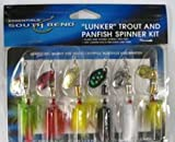 South Bend Lunker Trout & Panfish Spinner Kit