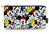 Loungefly Disney's Mickey Mouse and Friends Character Zip Case