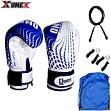 Authentic 1X 6oz Kids Boxing Gloves,Punch Bag Junior Mitts mma