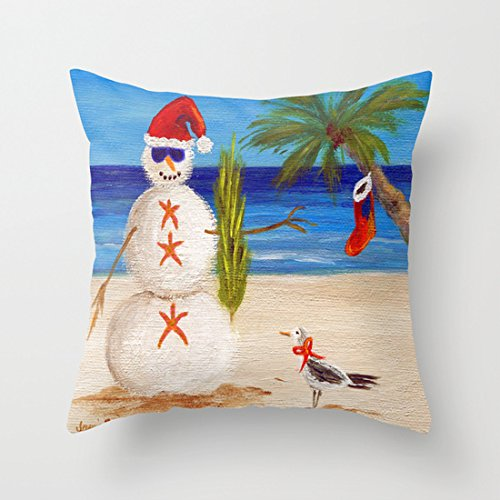 christmas-sandman-pillowcase-faux-linen-geometry-pattern-pillow-case-cushion-covers-with-invisible-z