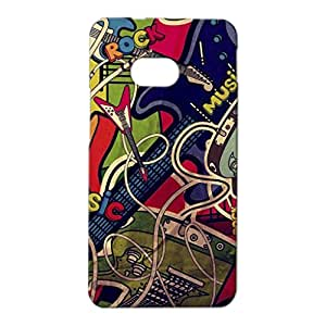 Mobile Cover Shop Glossy Finish Mobile Back Cover Case for HTC One