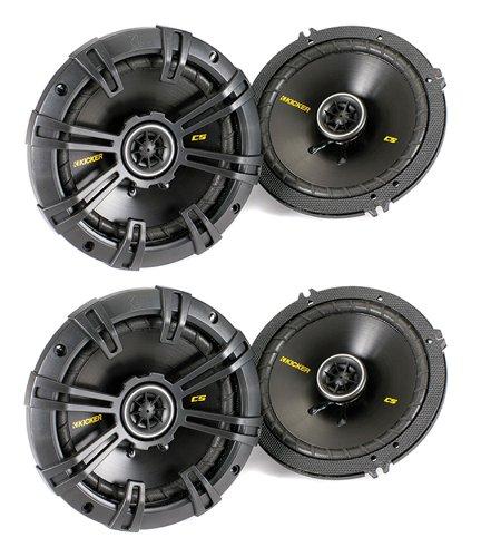 "4) New Kicker 40Cs54 5.25"" 450W 2-Way Car Coaxial Speakers Stereo Audio Cs54"