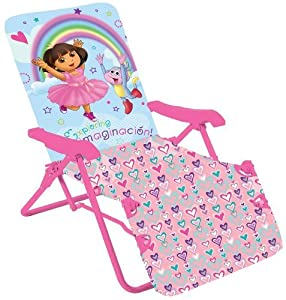 Tubular Steel Construction - Nickelodeon Dora The Explorer Lounge Chair