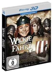 Wickie auf großer Fahrt - Premium Edition [Blu-ray 3D + DVD]