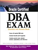 img - for Oracle Certified DBA Exam : Question and Answer Book book / textbook / text book