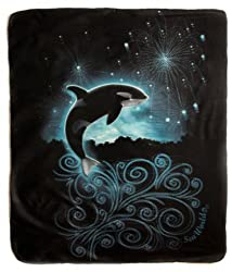 Whale Fireworks Throw
