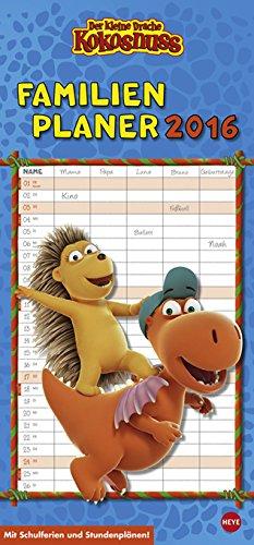 Der kleine Drache Kokosnuss Familienplaner 2016, Buch