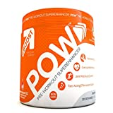 EBOOST POW - Natural Pre-Workout Powder For Men & Women, Non-GMO Fast-Acting Energy Supplement For Better Exercise Performance and Joint Comfort, All-Natural Berry-Melon Fizz, 20 Servings