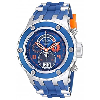 Invicta Subaqua 16250 52mm Stainless Steel Case Blue Silicone flame fusion Men's Watch