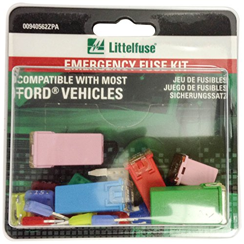 Littelfuse 00940562ZPA OEM Emergency Fuse Kit for Ford (Ford Fuses compare prices)
