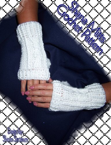 Fingerless Gloves PDF Crochet pattern great for by crochetgal