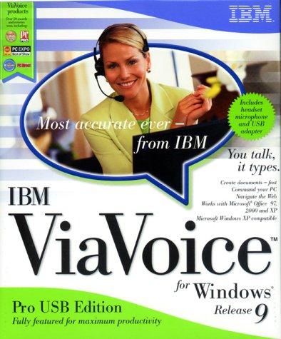 IBM ViaVoice 9 Pro USB Edition