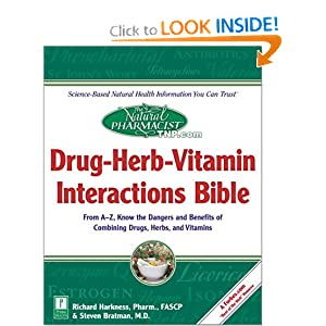 Click to buy Herbs That Lower Blood Pressure: The Natural Pharmacist : Drug-Herb-Vitamin Interactions Bible from Amazon!