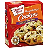 Duncan Hines Snack Cookie Mix, Chocolate Chip, 6.7-Ounce (Pack of 12)
