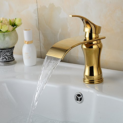 Gold Waterfall Faucets Price Compare