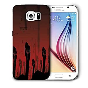 Snoogg Revolution Hand Printed Protective Phone Back Case Cover For Samsung Galaxy S6 / S IIIIII