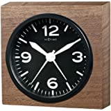 NEXTIME 目覚まし時計 Real Time Knock on wood 5165