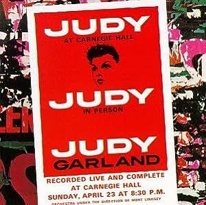Judy Garland Judy At Carnegie Hall Amazon Com Music