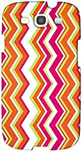 Brilliant 3D multicolor printed protective REBEL mobile back cover for Samsung Galaxy S3 - D.No-DEZ-2687-s3
