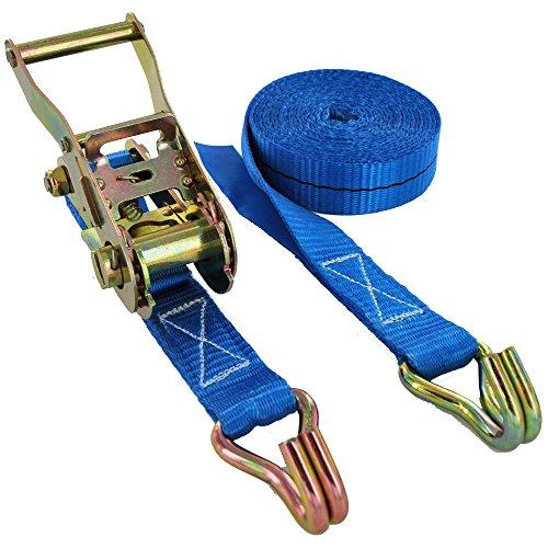 1500kg x 8m ratchet strap 1.5t - 25mm Wide