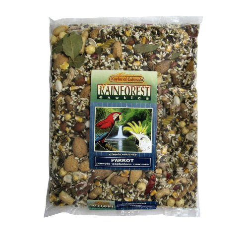 Rainforest Exotics Vitamin Enriched Parrot Food (B0068JJD5U)