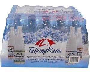 Talking Rain トーキングレインスパークリングウォーター 500mlx30本 (4つのフレーバー)