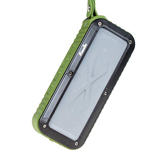 KEDSUM 防水/防塵/耐震 Bluetooth4.0 ワイヤレススピーカー