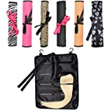 Pukka Hair Extensions - Zebra Storage Bag / Case / Wrap to store Clip In Human / Synthetic Hair Extensions