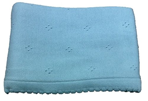 Cogy Babies Hand Knited Blankets (Blue)