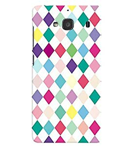 Xiaomi Redmi 2S MULTICOLOR PRINTED BACK COVER FROM GADGET LOOKS