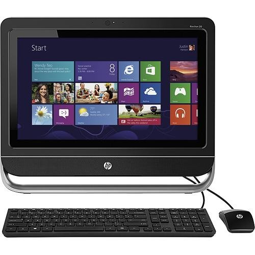 "Hp Pavilion 20-F394 Touchsmart 20"" Touch-Screen All-In-One Computer back-901634"