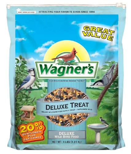 Wagner's 62067 Deluxe Treat Blend, 4-Pound Bag (Wild Bird Food compare prices)