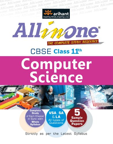 CBSE All in One Computer Science Class 11th