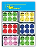 Grasshopr Mosquito Repellent Patch Smiley (Value Pack-120 Stickers)