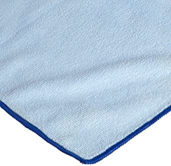 CPI MCLOTH300 B Heavy Duty Microfiber Cloth, 16-Inch x 16-Inch, Blue (Pack of 12)