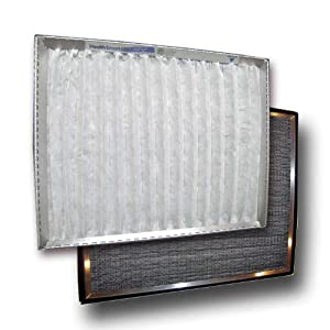 """17 x 19 x 1"""" Hinge HealthSmart Air Conditioner Filter with (1) year supply of MicroSponge pads"""