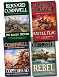 Bernard Cornwell Starbuck Chronicles Collection 4 Books Set Pack RRP: £27.96 (Copperhead, Battle Flag, Rebel, The Bloody Ground) Creator of Sharpe series (Starbuck Chronicles) Bernard Cornwell