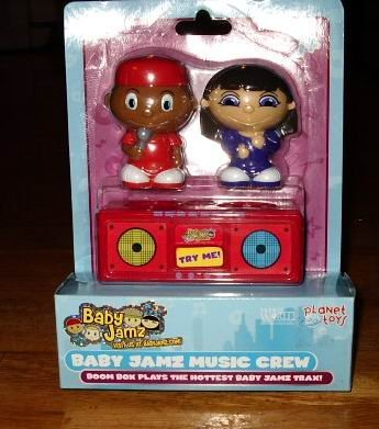 Baby Jamz Music Crew Boom Box