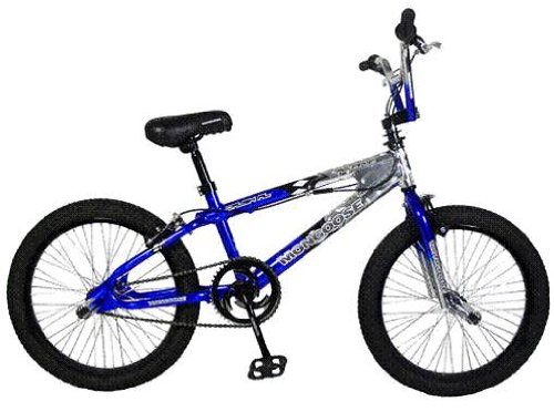 Mongoose Crush Bike 20 Inch Blue Buy Fixed Speed Bike