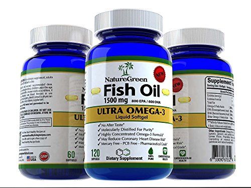 Galleon fish oil omega 3 capsules 1500mg liquid pills for Best fish for weight loss