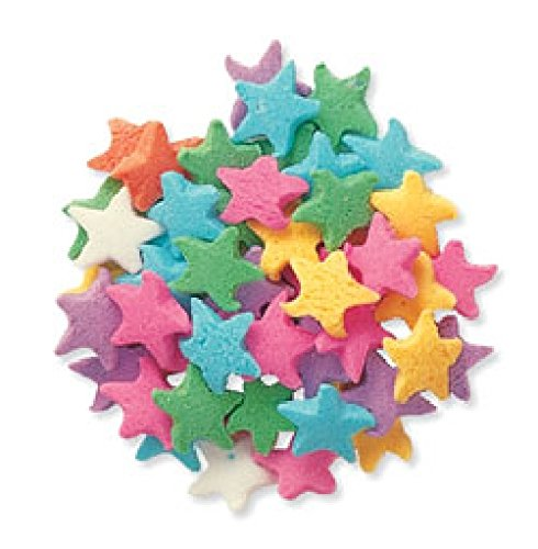 Oasis Supply Pastel Stars Sprinkle Quins, 8-Ounce (Oasis Supply Sprinkles compare prices)