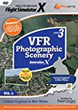 Playsims Publishing VFR Photographic Scenery Generation X Update Disc 2 - Central England and Mid Wales